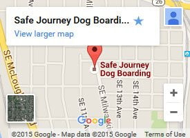 Safe Journey Dog Boarding on Google Maps